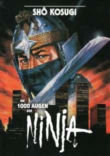 Die 1000 Augen der Ninja (Blu-ray), Blu-ray Disc