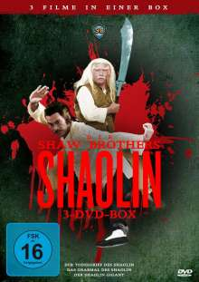 Die Shaw-Brothers - Shaolin Box, 3 DVDs