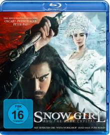 Snow Girl and the Dark Crystal (Blu-ray), Blu-ray Disc