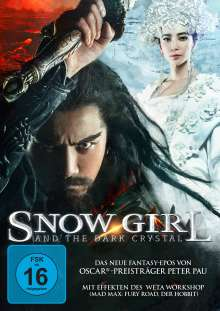 Snow Girl and the Dark Crystal, DVD