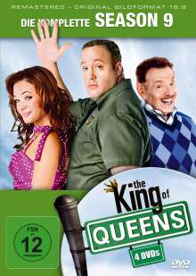 King Of Queens Season 9 (finale Staffel) (remastered), 3 DVDs