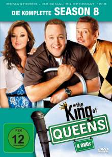 King Of Queens Season 8 (remastered), 4 DVDs