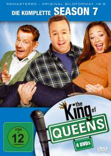 King Of Queens Season 7 (remastered), 4 DVDs