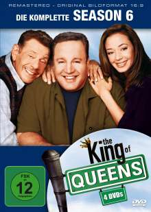 King Of Queens Season 6 (remastered), 4 DVDs