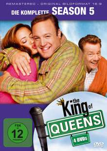 King Of Queens Season 5 (remastered), 4 DVDs