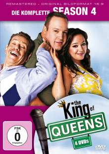 King Of Queens Season 4 (remastered), 4 DVDs
