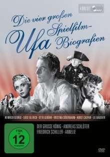 Die vier großen UFA Spielfilm-Biografien, 4 DVDs