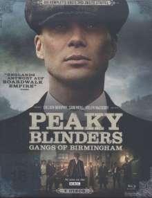 Peaky Blinders - Gangs of Birmingham Season 1 & 2 (Blu-ray), 4 Blu-ray Discs