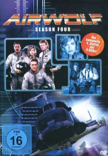 Airwolf Season 4, 6 DVDs