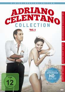 Adriano Celentano Collection Vol. 1, 3 DVDs