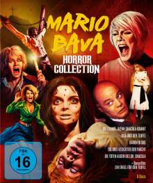 Mario Bava Horror Collection (Blu-ray), 6 Blu-ray Discs