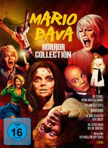 Mario Bava Horror Collection, 6 DVDs