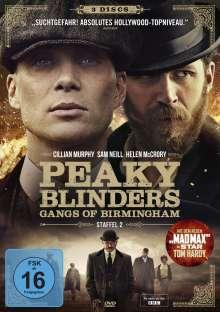 Peaky Blinders - Gangs of Birmingham Season 2, 3 DVDs