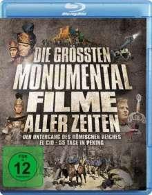 Die grössten Monumentalfilme aller Zeiten (3 Filme) (Blu-ray), 3 Blu-ray Discs