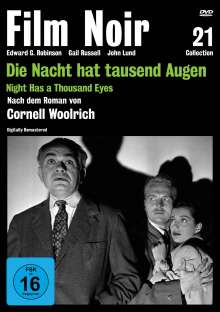 Die Nacht hat tausend Augen, DVD