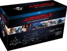 Airwolf (Komplette Serie) (Blu-ray), 18 Blu-ray Discs
