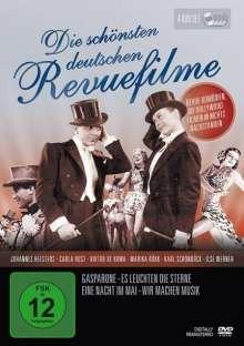 Die schönsten deutschen Revuefilme, 4 DVDs