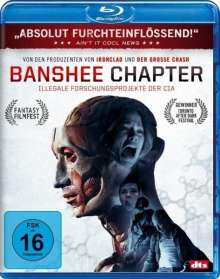 Banshee Chapter (Blu-ray), Blu-ray Disc