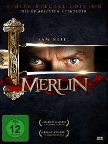 Merlin (Komplette Serie), 4 DVDs