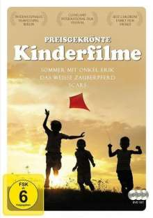 Preisgekrönte Kinderfilme 2, 3 DVDs