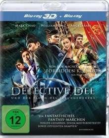 Detective Dee und der Fluch des Seeungeheuers (3D & 2D Blu-ray), 2 Blu-ray Discs