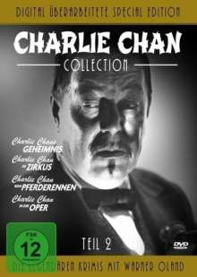 Charlie Chan Collection 2, 4 DVDs