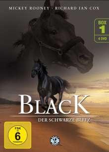 Black, der schwarze Blitz Box 1, 4 DVDs