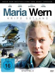 Maria Wern Season 2, 4 DVDs
