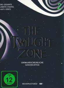 The Twilight Zone Season 2, 6 DVDs