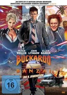 Buckaroo Banzai - Die 8. Dimension, DVD