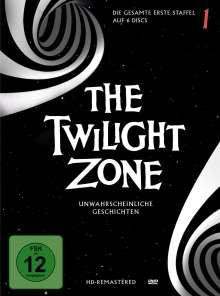 The Twilight Zone Season 1, 6 DVDs