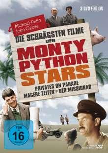 Die schrägsten Filme der Monty Python Stars, 3 DVDs