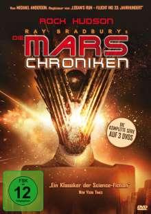 Die Mars-Chroniken (Komplette Serie), 3 DVDs