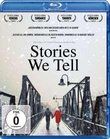 Stories We Tell (Blu-ray), Blu-ray Disc