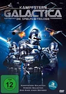 Kampfstern Galactica: Die Spielfilm-Trilogie, 3 DVDs