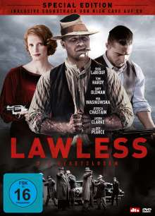 Lawless (Special Edition inkl. Soundtrack-CD), 1 DVD und 1 CD
