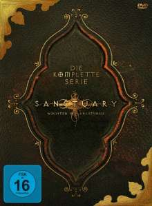Sanctuary (Komplette Serie), 19 DVDs