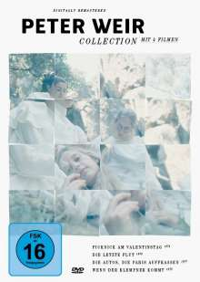 Peter Weir Collection, 4 DVDs