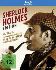 Sherlock Holmes Edition (Blu-ray), 6 Blu-ray Discs