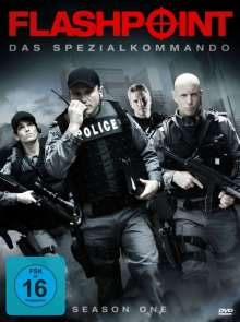 Flashpoint Season 1, 4 DVDs