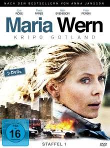 Maria Wern Season 1, 3 DVDs