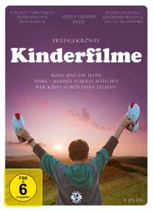 Preisgekrönte Kinderfilme, 3 DVDs