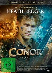 Conor, der Kelte (Komplette Serie), 4 DVDs