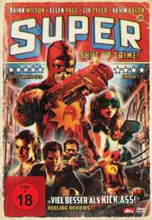 Super - Shut Up, Crime!, DVD