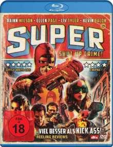 Super - Shut Up, Crime! (Blu-ray), Blu-ray Disc