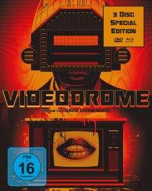 Videodrome (Special Edition) (Blu-ray & DVD), 3 Blu-ray Discs