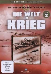 Die Welt im Krieg Teil 2, 4 DVDs