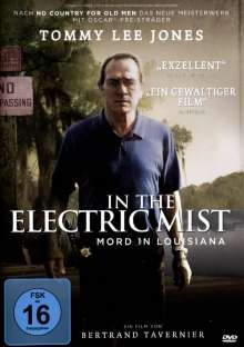 In The Electric Mist, DVD