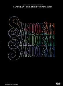 Sandokan - Der Tiger von Malaysia, 3 DVDs