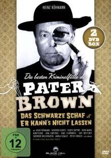Pater Brown: Das schwarze Schaf + Er kann's nicht lassen, 2 DVDs